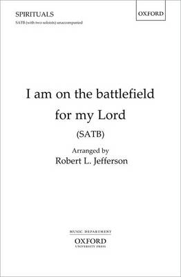 I am on the battlefield for my Lord (Sheet music)
