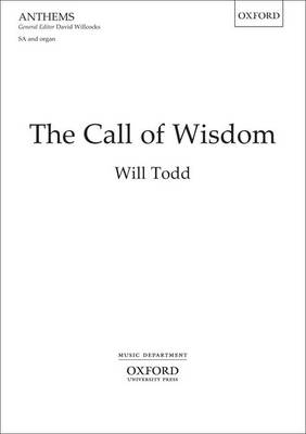 The Call of Wisdom: Upper voices vocal score (Sheet music)