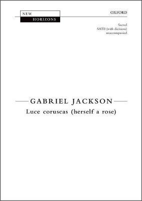 Luce coruscas (herself a rose): Vocal score - New Horizons (Sheet music)
