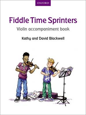 Fiddle Time Sprinters Violin Accompaniment Book - Fiddle Time (Sheet music)