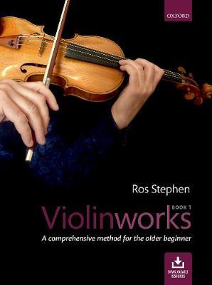Violinworks Book 1 + CD: A comprehensive method for the older beginner (Sheet music)