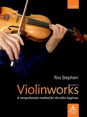 Violinworks Book 2 + CD (Sheet music)