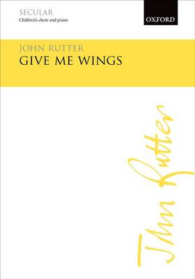 Give me wings (Sheet music)
