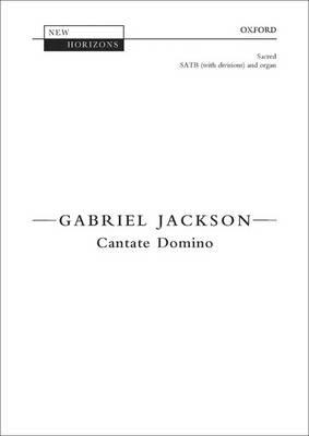 Cantate Domino: Vocal score - New Horizons (Sheet music)