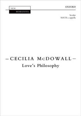 Love's Philosophy: Vocal score - New Horizons (Sheet music)
