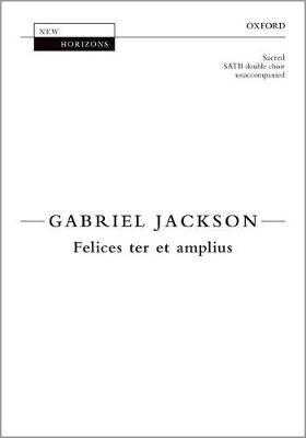 Felices ter et amplius - New Horizons (Sheet music)