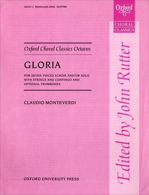 Gloria a 7 - Oxford Choral Classics Octavos (Sheet music)