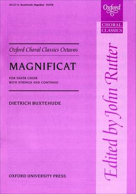 Magnificat: Vocal score - Oxford Choral Classics Octavos (Sheet music)