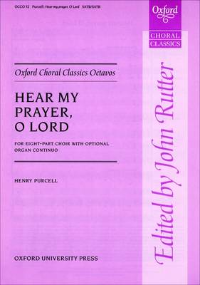 Hear my prayer: Vocal score - Oxford Choral Classics Octavos (Sheet music)