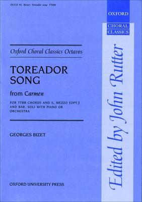 Toreador Song (from Carmen) - Oxford Choral Classics Octavos (Sheet music)