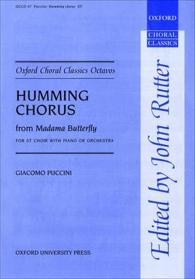 Humming Chorus from Madama Butterfly: Vocal score - Oxford Choral Classics Octavos (Sheet music)