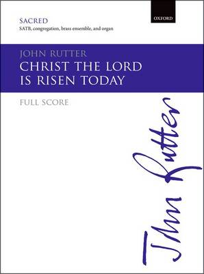 Christ the Lord is risen today (Sheet music)