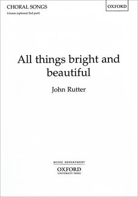 All things bright and beautiful (Sheet music)