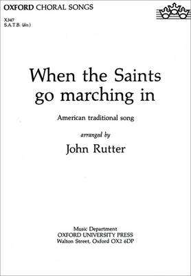 When the Saints go marching in (Sheet music)