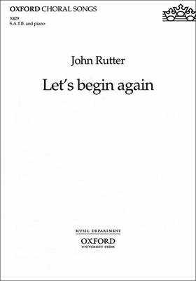 Let's begin again: from The Reluctant Dragon (Sheet music)