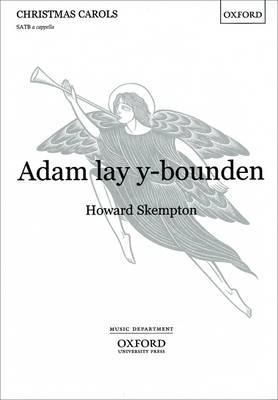 Adam lay y-bounden: Vocal score (Sheet music)