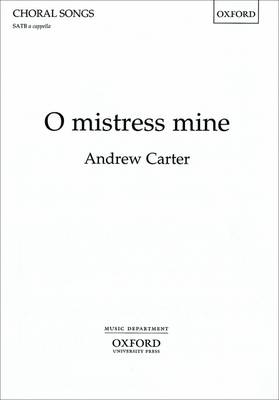 O mistress mine (Sheet music)