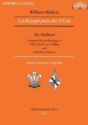 Let the people praise thee, O God (Sheet music)