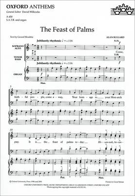 The Feast of Palms: Vocal score (Sheet music)