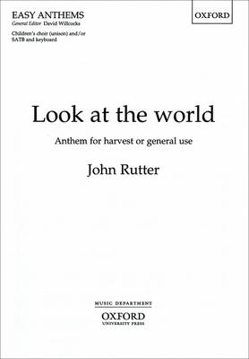 Look at the world: Vocal score (Sheet music)