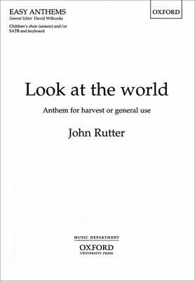 Look at the world (Sheet music)
