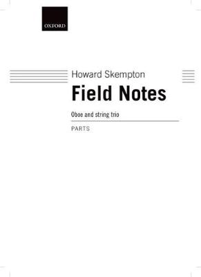 Field Notes: Set of parts (Paperback)