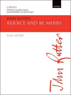 Rejoice and be merry: Full score (Sheet music)