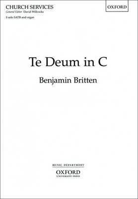 Te Deum in C (revised Edition): Vocal Score (Sheet music)