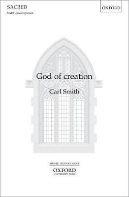 God of creation: Vocal score (Sheet music)