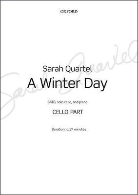 A Winter Day: Cello part (Sheet music)