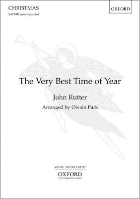 The Very Best Time of Year: Vocal score - unaccompanied (Sheet music)