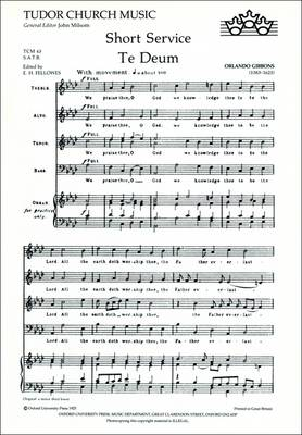 Short Service: Vocal score - Tudor Church Music (Sheet music)