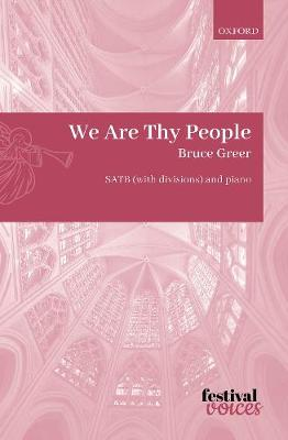 We Are Thy People - Festival Voices (Sheet music)
