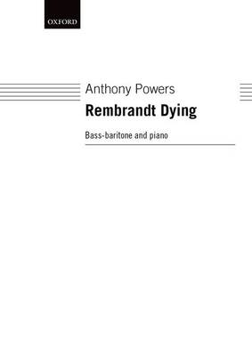 Rembrandt Dying (Sheet music)