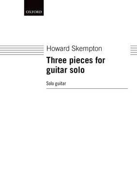 Three pieces for guitar solo (Sheet music)
