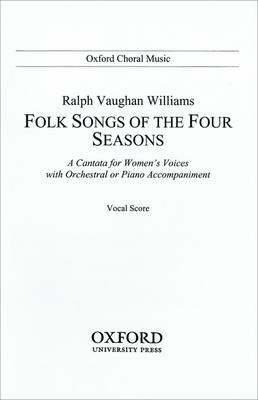 Folk Songs of the Four Seasons: Vocal score (Sheet music)