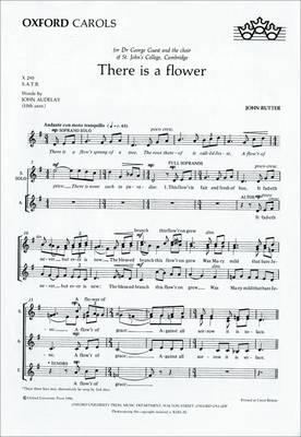 There is a flower: Vocal score (Sheet music)