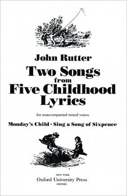 Two Songs from Five Childhood Lyrics: Vocal score (Sheet music)