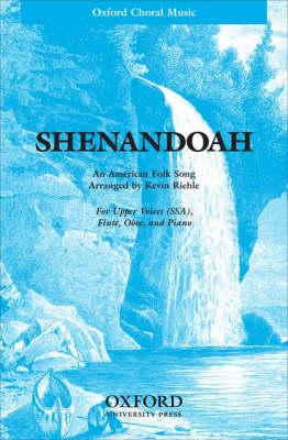 Shenandoah (Sheet music)