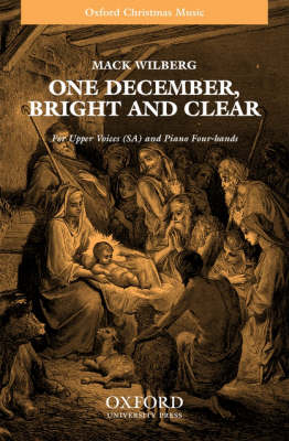 One December, bright and clear (Sheet music)