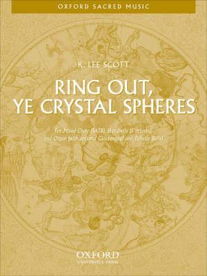 Ring out, ye crystal spheres (Sheet music)