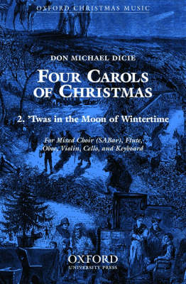Twas in the moon of wintertime (Sheet music)