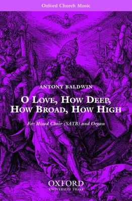 O Love, How Deep, How Broad, How High (Sheet music)