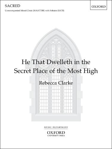 He That Dwelleth in the Secret Place of the Most High: Vocal Score (Sheet music)
