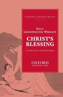 Christ's Blessing (Sheet music)