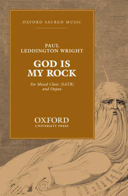God is my rock: Vocal score (Sheet music)