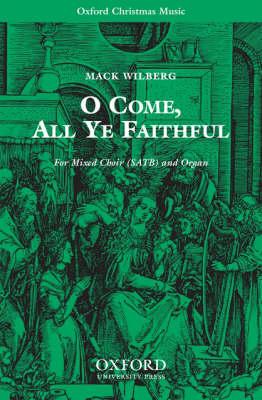 O come, all ye faithful (Sheet music)