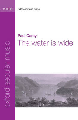 The water is wide (Sheet music)