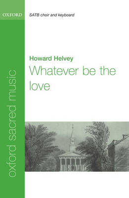 Whatever be the love (Sheet music)