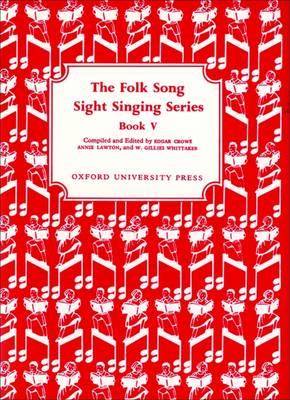 Folk Song Sight Singing Book 5 - Folk Song Sight Singing (Sheet music)